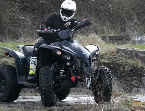 TGB Target 600 Quad Bike Video